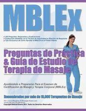 NEW Mblex Preguntas de Practica & Guia de Estudio de Terapia de Masaje by MS Lor