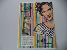 advertising Pubblicità 1955 SCIUFAN BORSARI PARMA e YVONNE DE CARLO