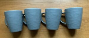 4 x Stone Grey Melamine 400ml Mugs Tough And Lightweight Melamine Set PLS