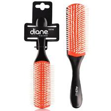 Diane 9-Row Professional Styling Brush Detangler, Denman brush