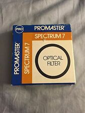 Promaster Spectrum 7 Optical Filter FL-D 58MM #4423 NEW IN BOX NIB Red Lens+Case