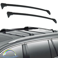 New 1 Pair For 2016-2018 Honda Pilot Black Top Roof Rack Cross Bar