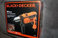 NEW Black+Decker 6 Amp 1/2 Inch Hammer Drill Corded DR670 Black & Decker