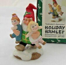 Fitz & Floyd Holiday Hamlet - Dollmaker's Apprentice - 1993