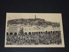 CPA CARTE POSTALE 1930 ALGERIE COLONIE FRANCE GHARDAÏA Marché MAGHREB AFN