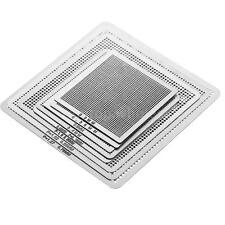 New 8pcs Universal BGA Direct Heat Stencil Reballing Acessories 0.35-0.76mm D5I4