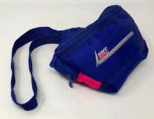 Vintage Nike Fanny Pack Nylon Purple / Pink Two Compartments