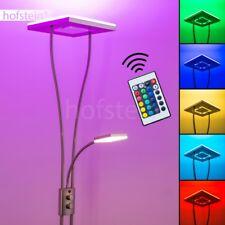 Deckenfluter LED mit Farbwechsler Wohn Zimmer Steh Leuchten Fernbedienung RGB