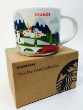 New Starbucks You are Here Series FRANCE 14oz Mug NIB Free Shipping!