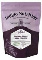 Indigo Herbs Organic Black Maca Powder 1kg Peruvian Raw