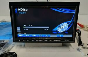 """ALPINE INA-W900 7"""" Touch DVD / GPS Navigation Player AUX/USB - Tested Fully -"""