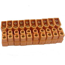 5-pairs Bullet Connectors Plugs Male+Female Amass XT60 Plug For RC Lipo Battery