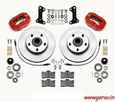 Wilwood Classic Series Dynalite Front Brake Kit 67-69 Camaro,67-72 Chevelle,Red-