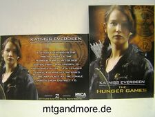 The Hunger Games Movie Trading Card - 1x #002 Katniss Everdeen