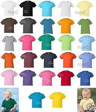 Rabbit Skins Infant Short Sleeve Cotton T-Shirt 3401 6M 12M 18M 24M NEW