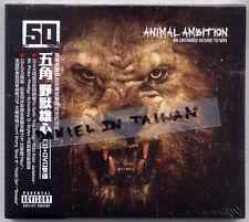 50 cent: Animal Ambition (2014) CD & DVD OBI TAIWAN
