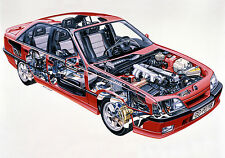 Vauxhall Carlton Mk3-OPEL OMEGA A Press Photo Collection Inc Gsi 3000, Lotus