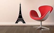 Wall Sticker Vinyl Decal Eiffel Tower Paris France Europe Travel (ig1156)