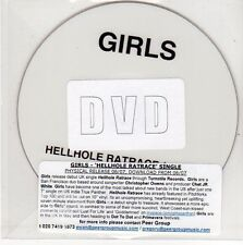 (EG765) Girls, Hellhole Ratrace - DJ DVD