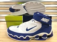 8963e5f16c4 Nike Shox Ups Retro 05 Shoes White Royal Blue Chrome VC SZ 11.5 ( 311738-