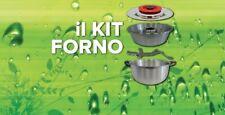 MAGIC COOKER KIT FORNO +Coperchio Classic 18/10 acciaio inox diam. 35cm +Omaggi