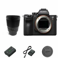 Sony a7R III / A7R3 43MP Full-Frame Mirrorless DSLR Body + 35mm f/1.4 ZA Lens