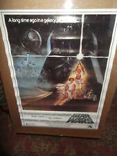 Rare Vintage Star Wars Soundtrack Store Poster 1977 1982 Original NOS