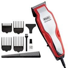Wahl Afro baldfader Red Para Hombre Professional Hair Clipper Kit De Afeitadora Trimmer Set