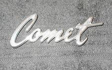1965 Mercury Comet Caliente Cyclone ORIG FRONT HOOD 'COMET' SCRIPT EMBLEM