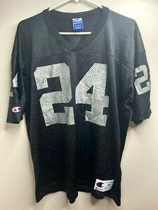 Vtg Champion Oakland Raiders Charles Woodson Jersey Mens Size 44