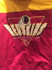 Washington Redskins Men's Logo 7 Jacket w/ Hood NFL Large Vintage 1990's