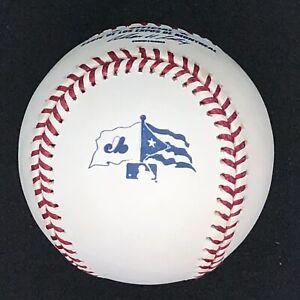 2003 Rawlings Official Serie de Los Expos Puerto Rico Baseball Ball Montreal