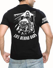 "1320 To Life-Drag Racing XL shirt- front engine dragster ""Life Behind Bars"""