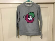 Kenzo Sweatshirt Size X-Small, light gray Color. Authentic. Very Nice. Rp: 295 $