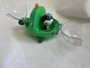 Octonauts  GUP E  Green Submarine Vehicle with Peso Figure