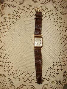 VINTAGE 14K GOLD LONGINES WATCH