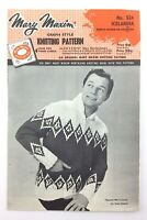 Mary Maxim Graph Style Knitting Pattern Instruction Booklet Brochure R064