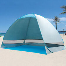2-3 Person Pop Up Beach Canopy Automatic Instant Camping Tent Sun Shade Shelter