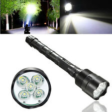 80000Lumens 5x T6 LED Tactical Flashlight Torch Lamp Super Bright Fit 18650 USA