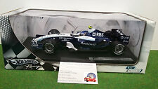 F1 WILLIAMS BMW FW29 # 17 WURZ 1/18 HOT WHEELS K6635 formule 1 voiture miniature