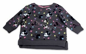 Next Disney Mickey Mouse Charcoal Jumper / Sweater Age 3-6 Months NEW