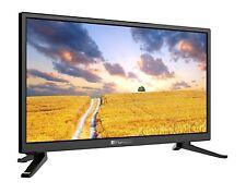 Opticum LED TV 20 Zoll HDTV Travel CI+ Fernseher 12V/24V DVB-S2/T2/C H.265 HEVC