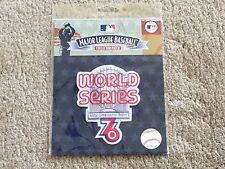CINCINNATI REDS 1976 WORLD SERIES PATCH MLB LICENSED