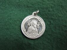 Vintage Religious JESUS CHRIST Medal  Our Lady of Perpe-Tual  Pendant Medal