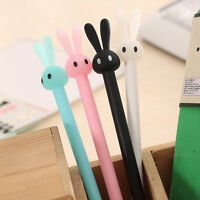 4pcs/Lot Cute Rabbit Ball Point Pen Ballpoint Creative Stationery Student Pens