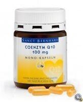 Coenzym Q10 100 mg Mono-Kapseln St. Bernhard 60 Kapseln Eur81,82/100g