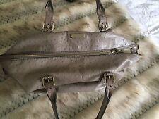Kate Spade Gray Leather Handbag