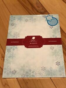 Christmas Stationary Great PaperLetterhead 80 sheets