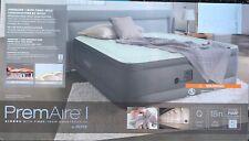 Queen Size Air Bed Mattress Intex 22 Built-In Electric Pump Raised -New