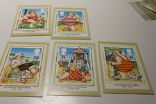 MINT 1994 GB PICTORIAL POSTCARDS PHQ STAMP MAXI CARD SET OF 5